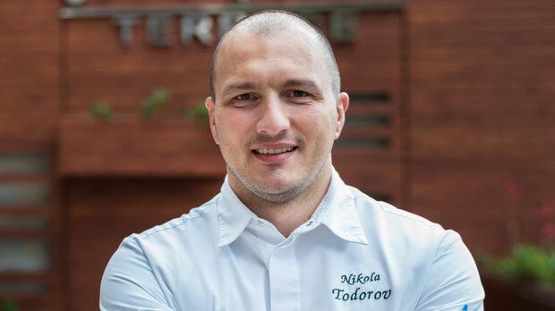 Никола Тодоров, главен готвач на ресторант Come Prima