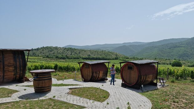 Barovo - лозя на вулканични почви и над 700 м надморска височина