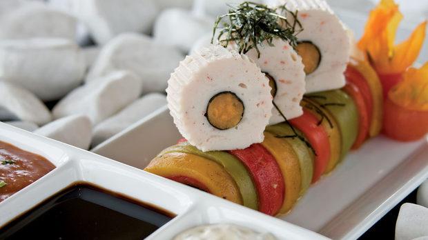 Суши, италиански стил