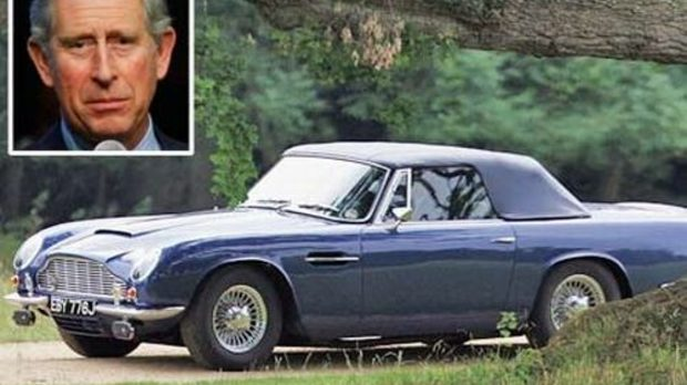 Принц Чарлс и неговият Aston Martin
