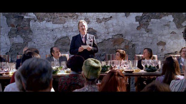 Алън Рикман в ролята на Стивън Спуриър