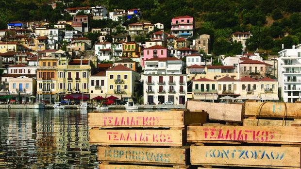 Гитио е едно от нетуристическите и затова автентични градчета на Пелопонес