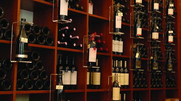 Магазинът на винарското имение