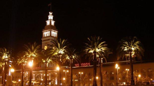 Ferry Plaza в Сан Франциско