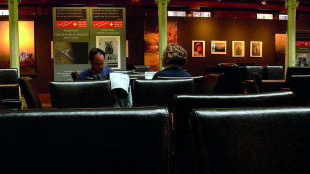 Кафенето Géry в абсолютния център на Брюксел.