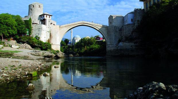 Старият мост в Мостар