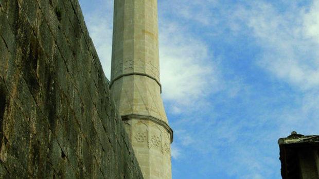 Възстановената джамия на Почител, част от защитеното от ЮНЕСКО световно архитектурно наследство