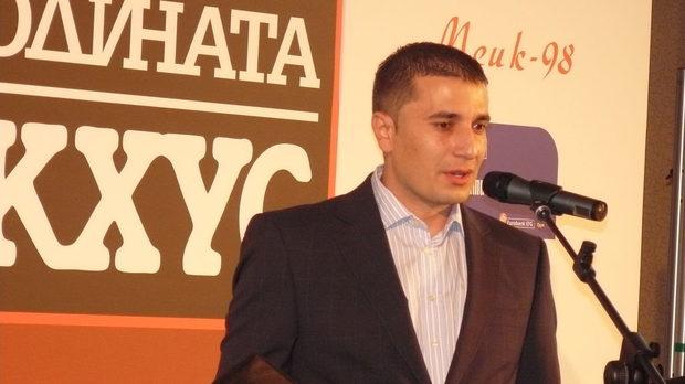 Пламен Козарев по време на церемонията