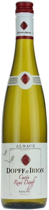 Dopff & Irion Riesling Cuvee 2015, Alsace, ФранцияChateau de Riquewihr (Шато дьо Риквир) датира от далечната 1549 г. и първоначално е било собственост на принцовете на Вютенберг, управлявали града и региона повече от пет столетия.Рене Допф поема Домейн Допф и Ирион през 1945 г. Той решава да прекрати старите практики на производство на вино, като променя стила на етикетите от готически с по-модерна визия. Той също така разделя лозето в Шато Риквир на четири имота с типичните френски имена: Les Murailles, Les Sorcières, Les Maquisards и Les Amandiers.Допф и Ирион притежава над 27 хектара лоза от хълмовете на Риквир, както и 8 хектара от емблематичния Grand Cru Schoenenbourg.Производител: Dopff & Irion, Chateau de RiquewihrВинен регион: Елзас, ФранцияСортове: 100% РизлингВинификация: Ръчно бране на гроздето, ферментация при контролирана температура (с цел запазване на свежестта). Съзряване за 6 месеца в метални съдове преди бутилиранеЦвят: Златист с зелени отенъциАромат: Минерален, свеж, ябълково-прасковен, нотки на горчив бадем и сив пиперВкус: жив, свеж и балансиран, дълъг плодов с минерална устойчивостНагради: Wine Enthusiast - 87 PointsПоднесено с: Печен гълъб, карфиол, годжи бери, кедрови ядки и спанак от шеф Веселин Калев